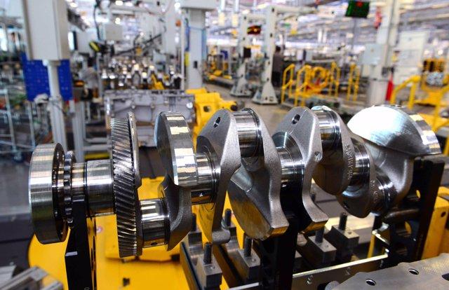Producción de su primer motor Ingenium de gasolina del EMC