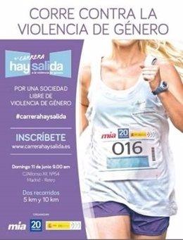 IV Edición de la Carrera 'Hay Salida: por una sociedad libre de violencia de gén