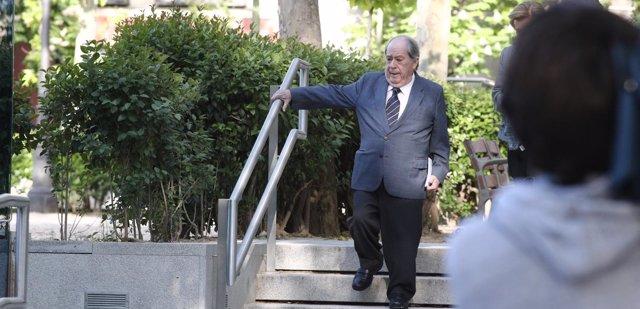Lluis Prenafeta llega a la Audiencia Nacional para declarar por el caso Pretoria