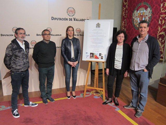 Valladolid. Presentación de las actividades de Santa María de Palazuelos