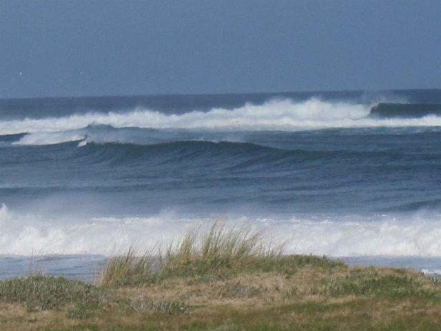 Oleaje en la costa de Lugo