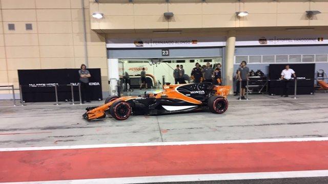 McLaren en el test de Baréin