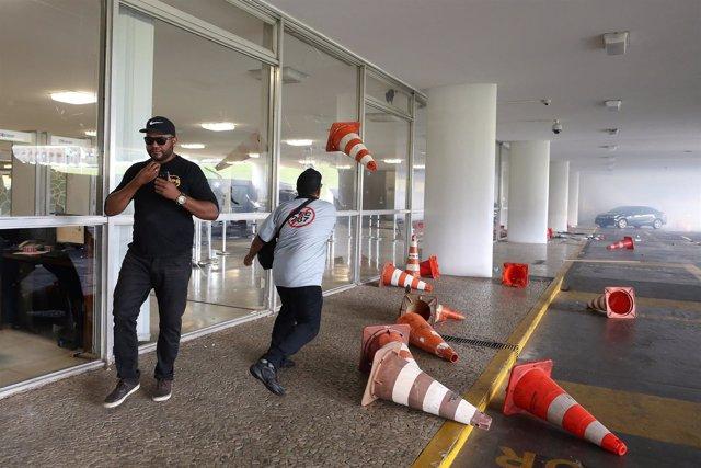 Protestas en Brasil contra la reforma de las pensiones