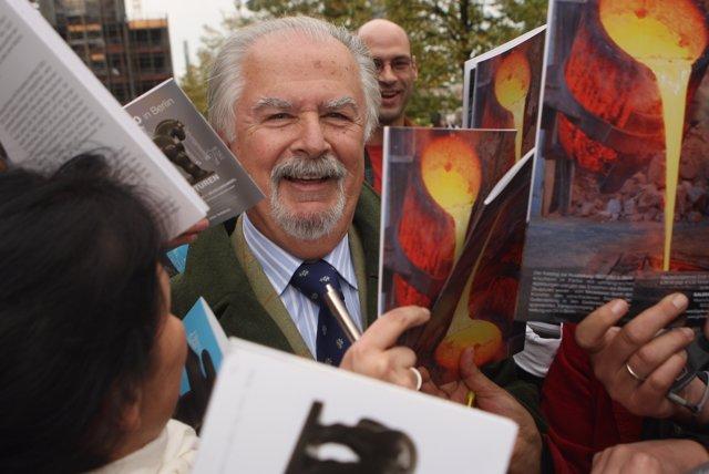 El artista colombiano Fernando Botero
