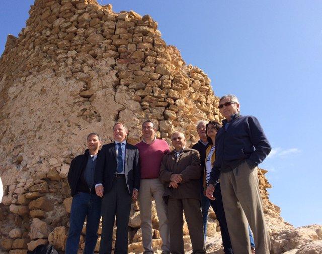 Viista a la Torre de les caletes en Benidorm (Alicante)