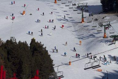 Les estacions del Grup FGC tanquen la temporada d'hivern amb un 28% més de visitants (FGC / ORIOL MOLAS)