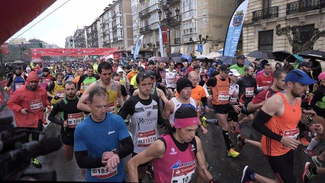 Media Maratón de Santander en 2016