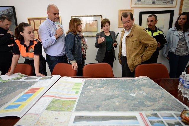 La Junta presenta el estudio de prevención de incendios de Alhama