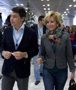 Esperanza Aguirre E Ignacio González En El XV Congreso PP Regional