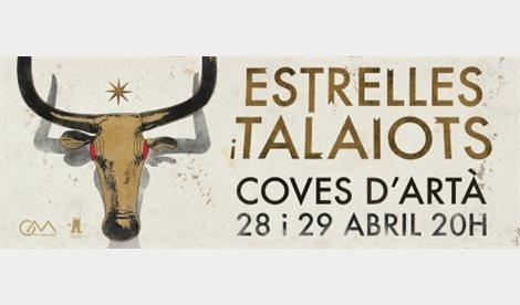 Carlos Garrido recrea el final de la cultura talayótica en las Cuevas de Artà