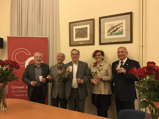 J.Guillén, P.Fàbregas, M.Donnay, M.Ballarín y J.Bertran