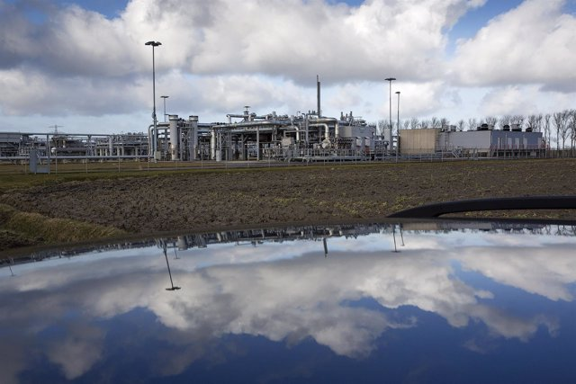 Planta de producción de gas en Groningen