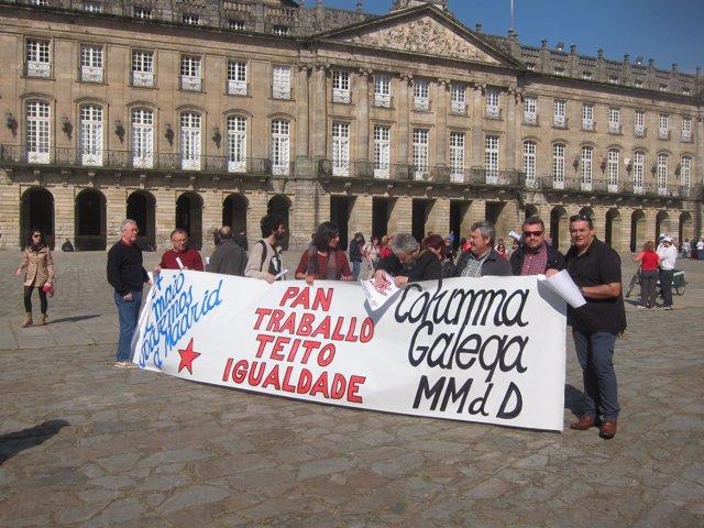 Columna gallega de las Marchas de la Dignidad