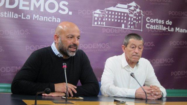 Molina con Caro en rueda de prensa