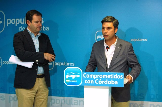Adolfo Molina y Andrés Lorite