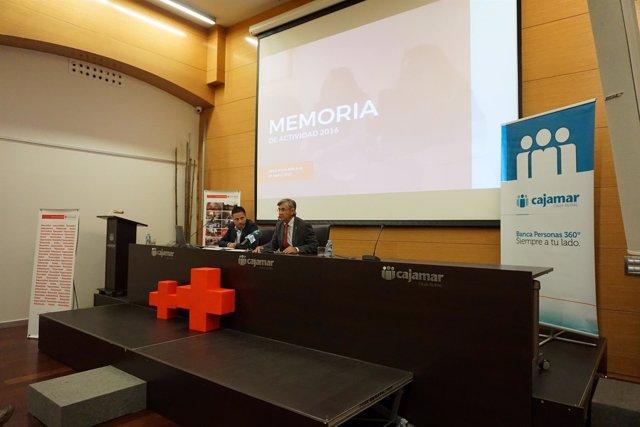 Presentación de la Memoria de Cruz Roja en Málaga