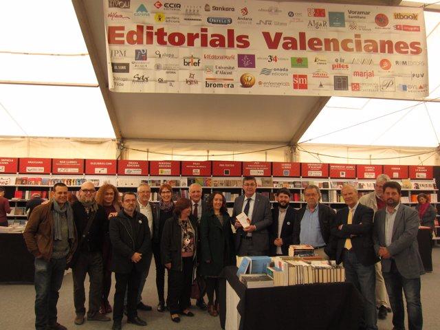 Inauguración de la 52 Fira del Llibre de València