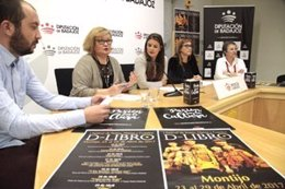 Presentación del festival de Montijo