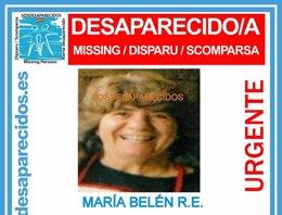 Mujer desaparecida en Ourense