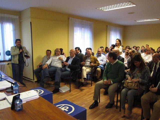 Valladolid.- Carnero, en la Junta Directiva