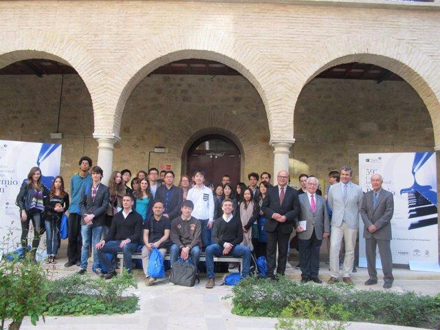 Concursantes del 59 Premio Internacional Jaén de Piano