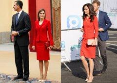 El nuevo parecido razonable en los looks de la Reina Letizia y Kate Middleton
