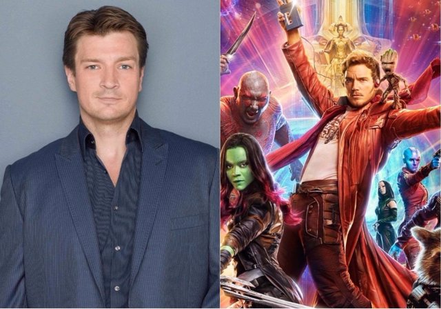 Nathan Fillion/Guardianes de la Galaxia