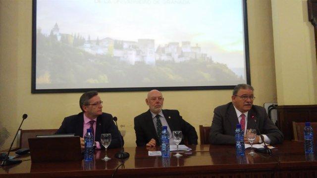 El fiscal general del Estado, José Manuel Maza, en Granada este viernes