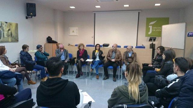 Uno de los talleres sobre empleabilidad destinado a jóvenes.