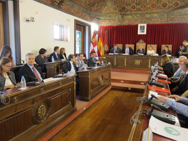 Pleno de la Diputación de Valladolid