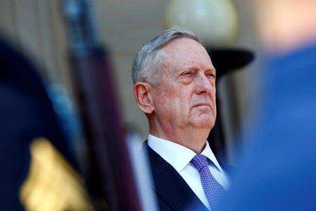 El secretario de Defensa de Estados Unidos, James Mattis
