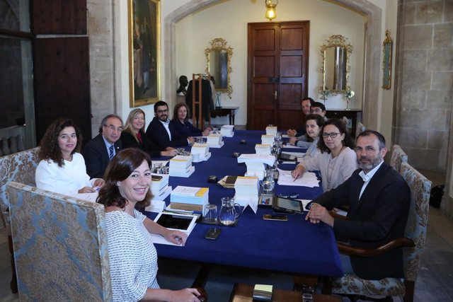 Reunión del Consell de Govern tras la incorporación de Fanny Tur