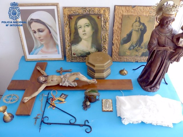 Detenidas dos personas por robar objetos religiosos en capillas e iglesias de Mallorca