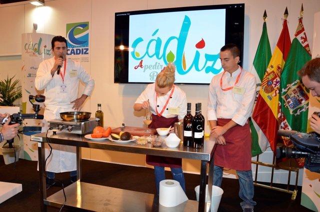 Cádiz estará en el Salón Gourmets de Madrid