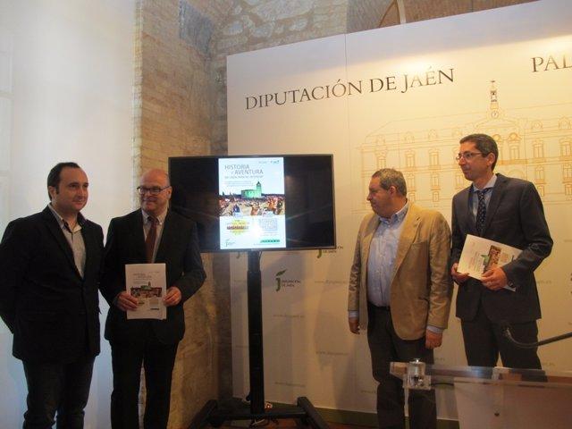 Presentación de 'Historia y aventura en Jaén, paraíso interior'