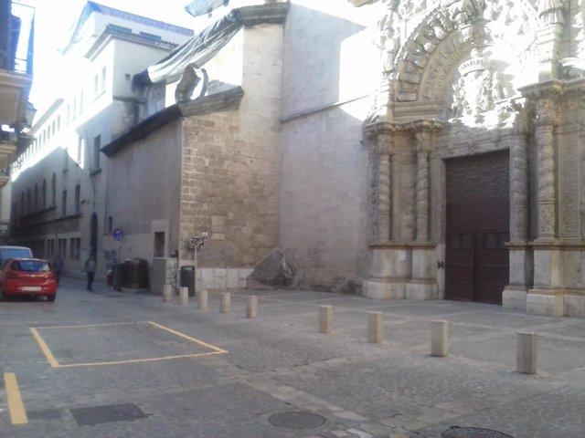 ARCA critica la señalización de contendores en el casco antiguo de Palma