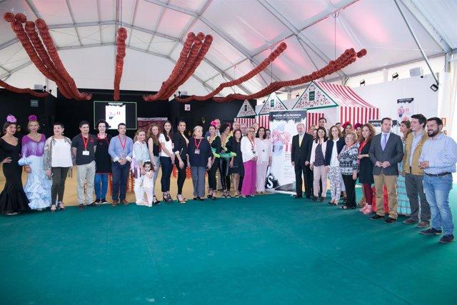 Diputación acoge II Feria de Sevillanas y Moda Flamenca