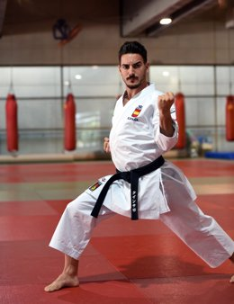 Damián Quintero, karateka español