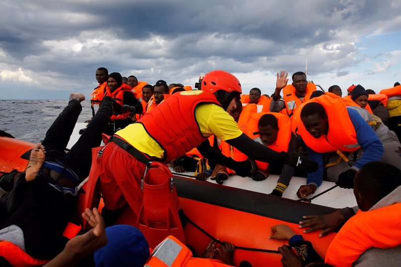 Más de 150 niños han muerto intentando cruzar el Mediterráneo en 2017