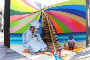 ¿Has visto las espectaculares obras del muralista brasileño Eduardo Kobra?
