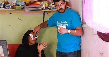 """Juan José Gómez, óptico voluntario en Marruecos: """"No teniendo nada, te lo..."""