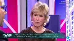 """Mercedes Milá carga contra Mila Ximénez y Jorge Javier Vázquez: """"Es tu amiga, tú le perdonas todo"""""""