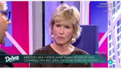 """Mercedes Milá habla de la relación de Mila Ximénez y Jorge Javier Vázquez: """"Es tu amiga, tú le perdonas todo"""""""