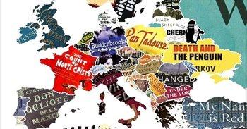 Día del libro: El mapamundi de los libros