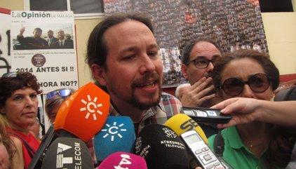 """Iglesias dice que el Ministerio del Interior """"no está para proteger a corruptos ni sinvergüenzas"""", sino a ciudadanos"""
