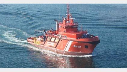 Salvamento Marítimo trabaja en la dispersión del vertido provocado por el accidente de Naviera Armas