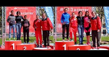 Hamid Ben Daoud y Elena Moreno se imponen en la Media Maratón de Santander