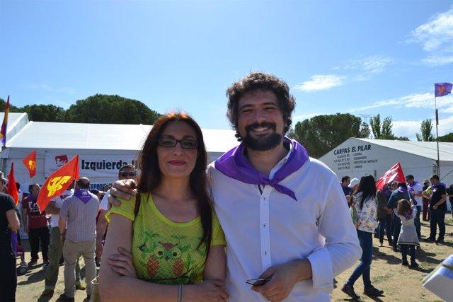 Sarrión durante la celebración del Día de Castilla y León