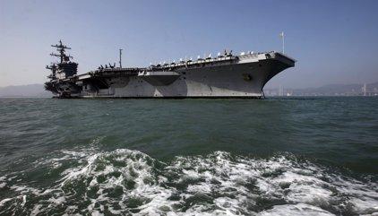 Corea del Norte amenaza con hundir el portaaviones de EEUU 'Carl Vinson' si se acerca a sus aguas