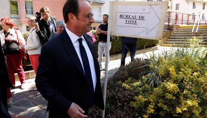 Cierran los primeros colegios electorales en Francia